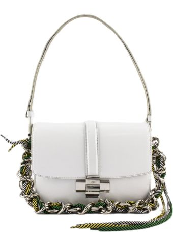 N.21 White Nappa Leather Shoulder Bag