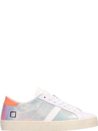D.A.T.E. Multicolored Leather Hill Low Sneakers