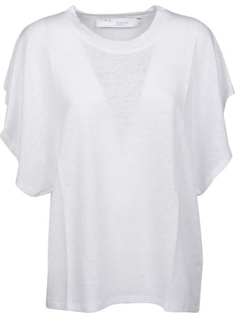 IRO Ruffled T-shirt