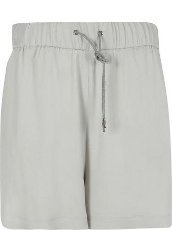 Fabiana Filippi Crepe Drawstring Shorts