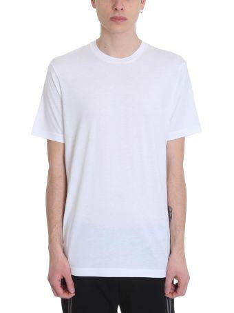 BLACKBARRETT by Neil Barrett White Cotton T-shirt