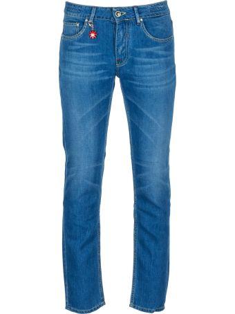 Manuel Ritz Cotton And Linen Jeans