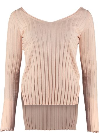 Jucca Ribbed Knit Pullover