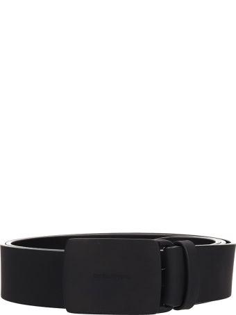 Dsquared2 Black Leather Belt