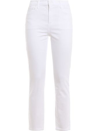 J Brand High Waisted Cropped Jeans