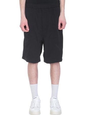 Ami Alexandre Mattiussi Black Polyamide Shorts
