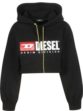 Diesel Cropped Hoodie