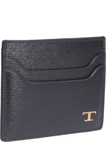 Tod's T Timeless Logo Cards Holder