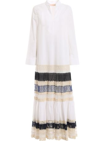 Tory Burch Lace-trim Dress