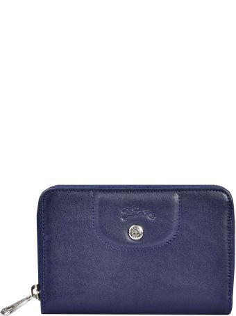 Longchamp Compact All Around Zipped Wallet