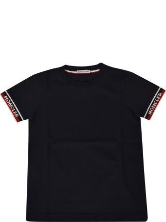 Moncler Kids Embroidered T-shirt