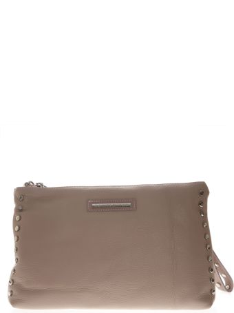 Marc Ellis Clutch Maggie In Dusty Rose Leather