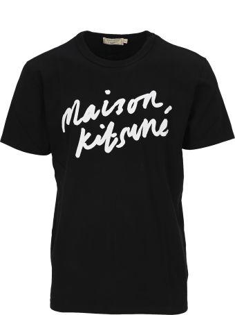 Maison Kitsuné Maison Kitsune Handwrating T-shirt