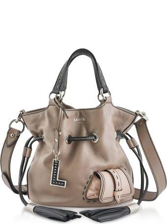 Lancel Color Block Premiere Small Leather Bucket Bag