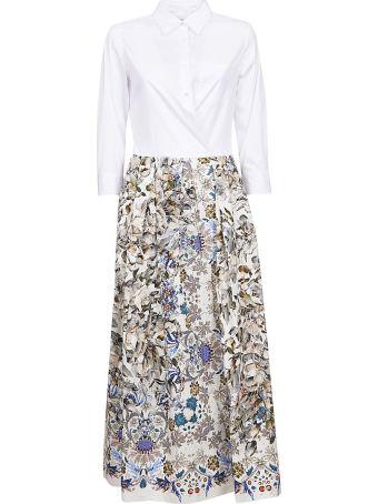 Sara Roka Pleated Shirt Dress