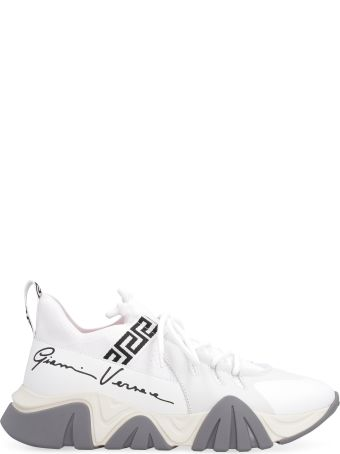 Versace Squalo Knit Low-top Sneakers