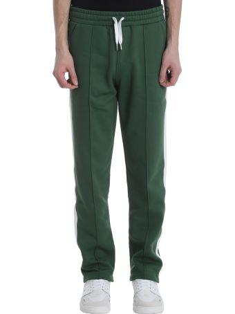 Ami Alexandre Mattiussi Green Cotton Pants