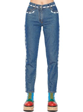 Moschino 'stitching' Jeans