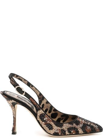 Dolce & Gabbana Lori 90 Slingbacks