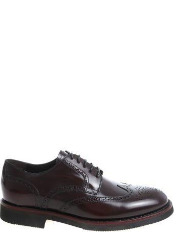 Blu Barrett Perforated Derby Shoes
