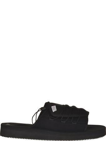 SUICOKE Drawstring Detail Sandals