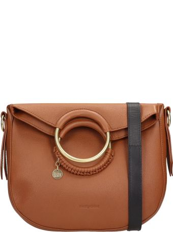 See by Chloé Browne Leather Monroe Bag