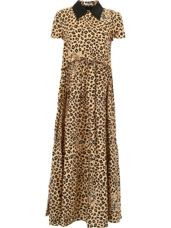 Vivetta Leopard-printed Finer Dress