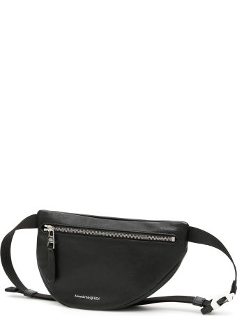 Alexander McQueen Asymmetric Beltbag