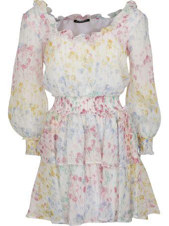 WANDERING Floral Mini Dress