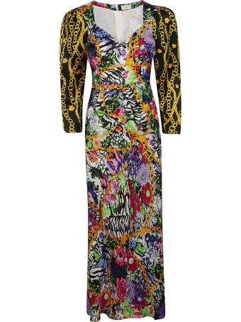 Rixo London Floral And Chain Dress