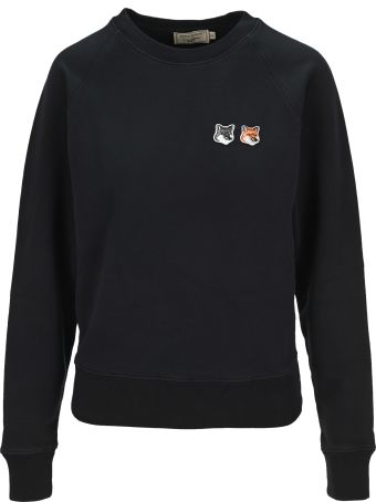 Maison Kitsuné Maison Kitsune Double Fox Head Patch Sweatshirt