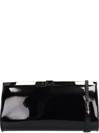 Christian Louboutin Black Pvc Palmette Bag