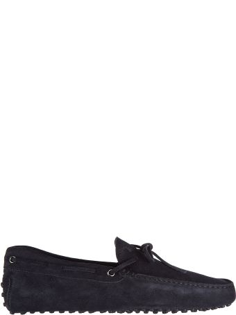 Tod's  Suede Loafers Moccasins Laccetto Gommini