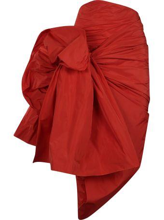 Dries Van Noten Draped Detail Skirt