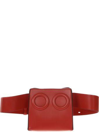 BOYY Deon Red Leather Beltbag