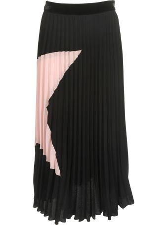 Shirt a Porter Pleated Skirt