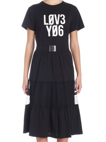 RED Valentino 'love You' Dress