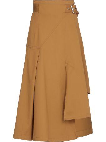 3.1 Phillip Lim Cotton Skirt