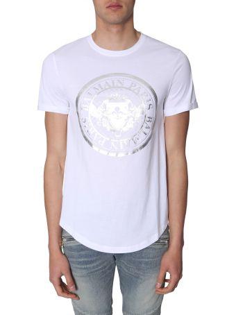 Balmain T-shirt With Medallion Print
