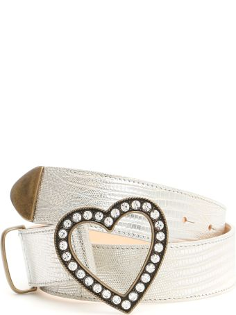 Alessandra Rich Heart Belt