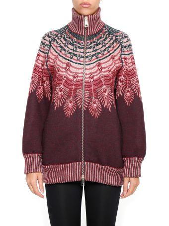 Giada Benincasa Wool And Lurex Bomber Jacket