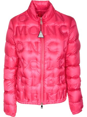 Moncler Embossed Logo Padded Jacket