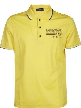 Paul&Shark Logo Embroidered Polo Shirt