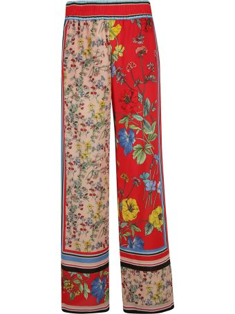 Alice + Olivia Highwaist Floral Trousers