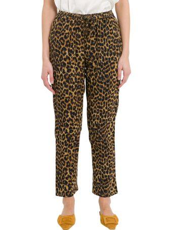 Mes Demoiselles Fatal Leopard Print Pants