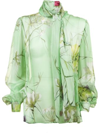 Blumarine Capsule Floral Print Top