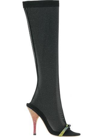 Marco de Vincenzo Embellished Over-the-knee Boots
