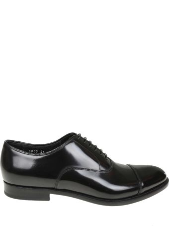 Doucal's 332/5000 Doucal's Derby In Black Leather