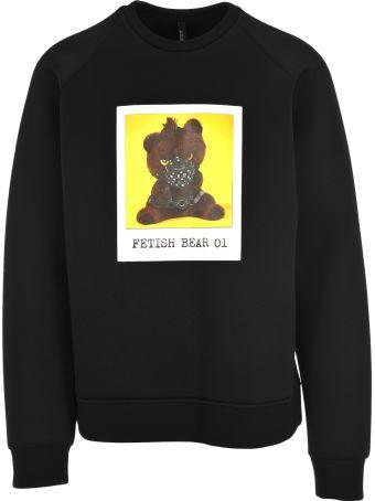 Neil Barrett Fetish Bear Print Sweatshirt