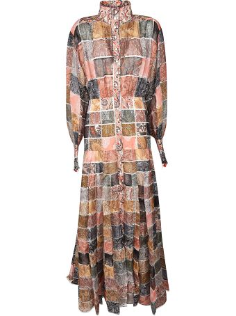 Zimmermann Patchwork Paisley Dress